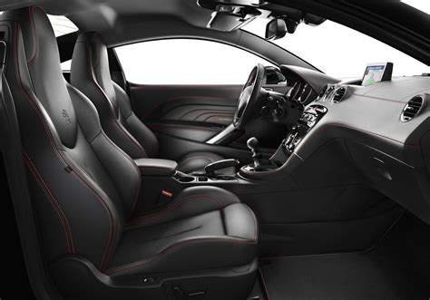 peugeot rcz red carbon special edition launched