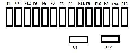 citroen  picasso   fuse box diagram auto