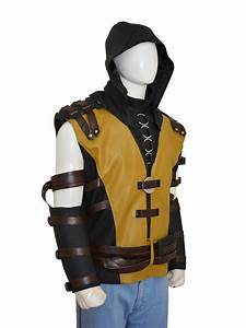 Mortal Kombat X Game Scorpion Costume Vest - Instylejackets