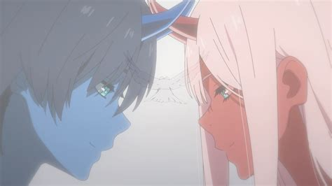 darling   franxx red face   blue face hiro