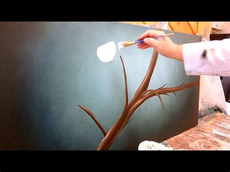 Painting Cherry Blossoms Step by Step