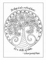 Coloring Recovery Pages Adult Inkspirations Drug Hobbit Books Template Door Sketchite Tree sketch template