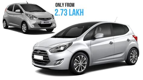 Hyundai Eon Price by Ahead Of New Santro Launch Hyundai Eon Available With