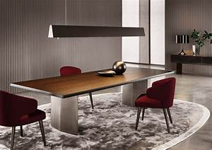 The Morgan Rectangular Dining Table Minotti Luxury