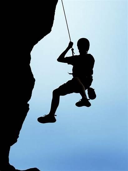 Rock Climbing Clipart Rappelling Mountain Wall Mountains