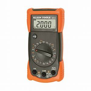 Manual Ranging Multimeter - Mm100