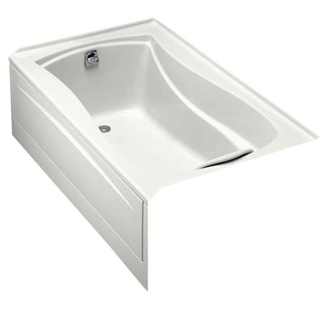 baignoire avec integree kohler baignoire mariposa r 5 pi avec 224 carreler int 233 gr 233 e et drain 224 gauche home depot