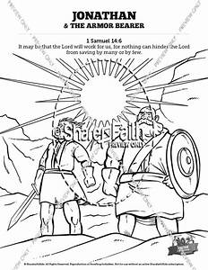 jonathan and his armor bearer sunday school coloring pages With current reviews 1