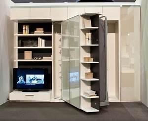 Lit Dans Armoire : lit escamotable lgm 202 bimodal ~ Premium-room.com Idées de Décoration