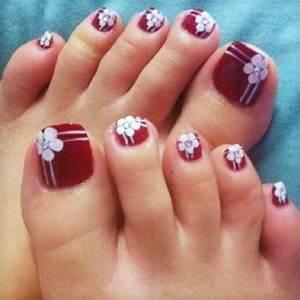 Nail art for your beautiful feet nailkart