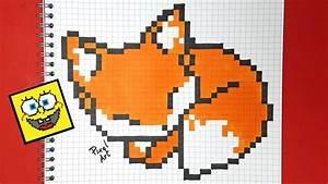 Pixel Art Voiture Facile : pixel art renard youtube ~ Maxctalentgroup.com Avis de Voitures