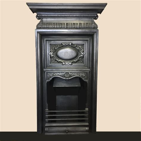 Tall Victorian Cast Iron Combination Bc083 Olde Worlde