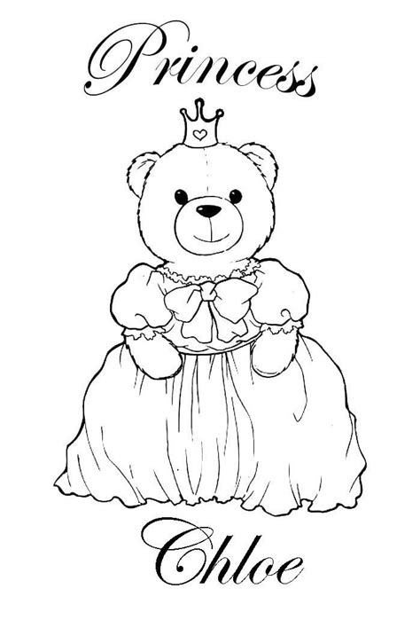 chloe chloe  colouring pages chloe