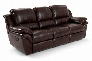 Bobs leather and brown on pinterest for Bob s leather sectional sofa