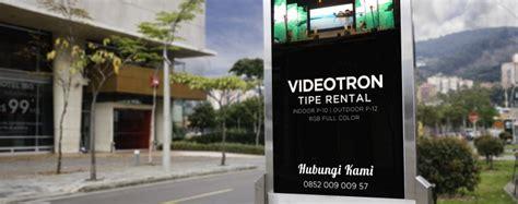 videotron tipe rental videotron indoneisa