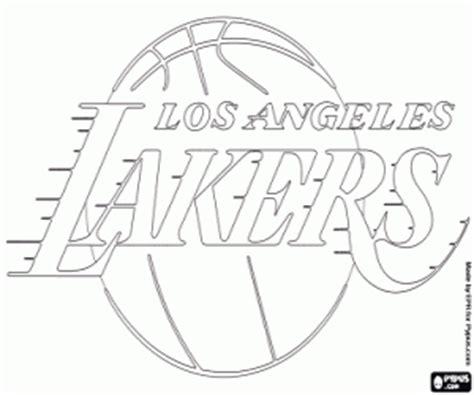 La Lakers Coloring Pages - Democraciaejustica