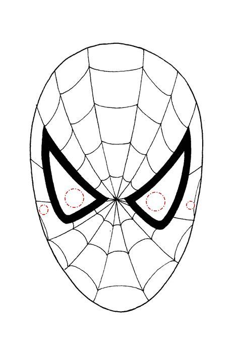 disegni da colorare uomo ragno gratis maschera uomo ragno da colorare con disegni da colorare e