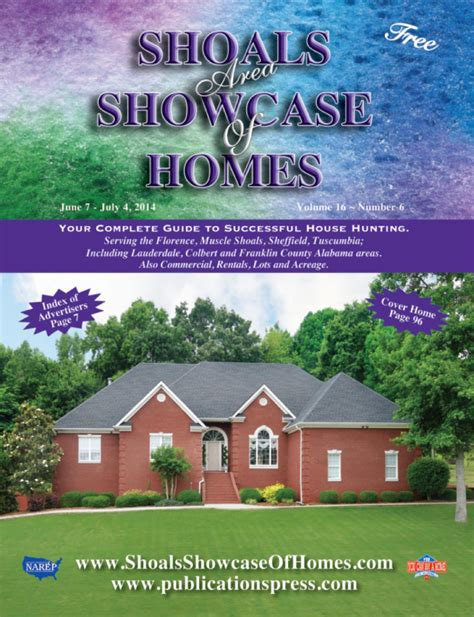 plans for homes issuu shoals area showcase of homes vol 16 no 6 by