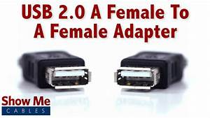 Easy To Use Usb 2 0 A Female To A Female