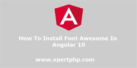 Bootstrap 4, font awesome 4, font awesome 5 free & pro snippets for visual studio code. how to install font awesome in angular 10 - XpertPhp