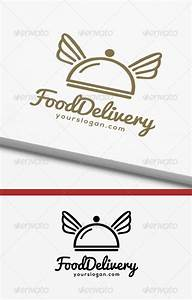 Food Delivery Logo by xcaped | GraphicRiver