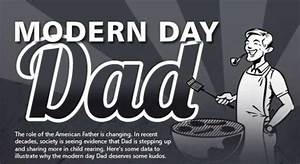 Modern Charts And Graphs Paternal Comparison Graphs Modern Day Dad Infographic