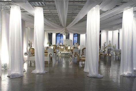 Wedding Draping Fabric - dallas lighting drape