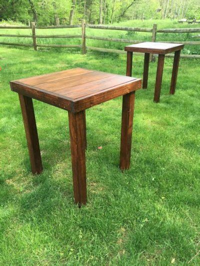 cocktail tables for rent farmhouse table rentals for weddings showers or any
