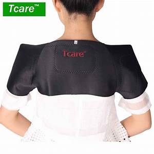 Tcare 1pcs Tourmaline Self Heating Shoulder Pads Support