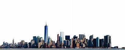 York Skyline Panorama Freedom Tower States United