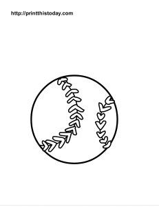 printable sports balls coloring pages