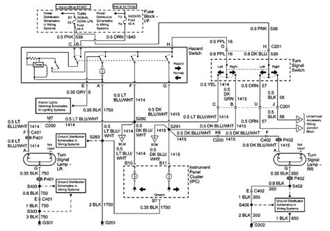 2005 Chevy Impala Ignition Switch Wiring Diagram by 1997 Chevrolet Malibu 3 1l Fi Ohv 6cyl Repair Guides