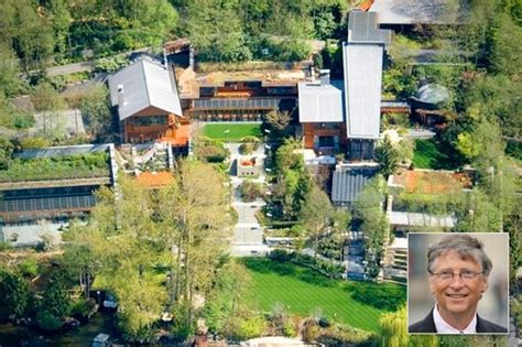 Insight Into The Bill Gates House