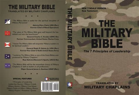 united states military chaplains bible society