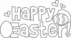 Free coloring pages of easter bunny family