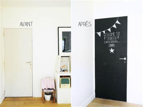 meuble cuisine coulissant ikea j 39 ai peint ma porte avec de la peinture ardoise coach