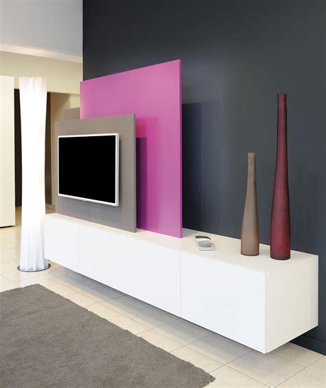 bureau d angle laqu blanc meuble home cinéma dressing concept