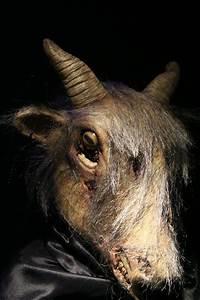 Satanic Goat Head Mask