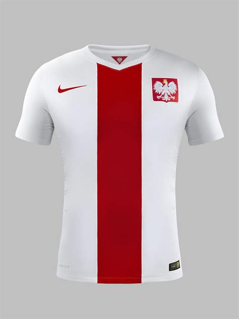 poland unveils  national team kit  nike nike news