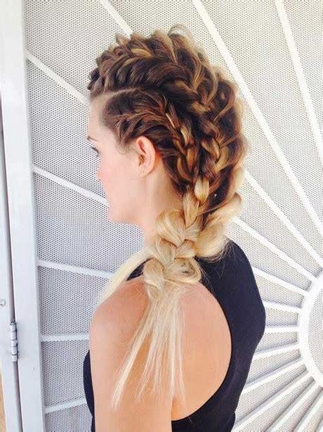 hair plaits  long hair