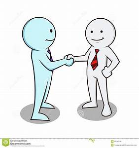 Business man shaking hands stock vector. Illustration of ...