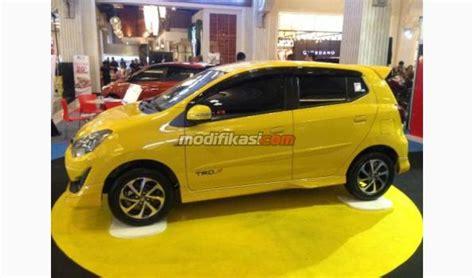 Modifikasi New Agya by 2017 Toyota New Agya 1 2 Trd Mt Yellow