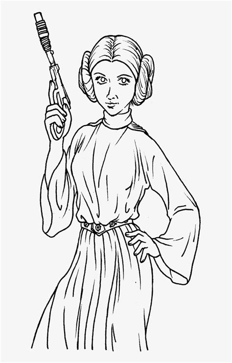 princess leia coloring pages  coloring pages  kids