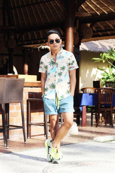 hot beach outfit  men  follow