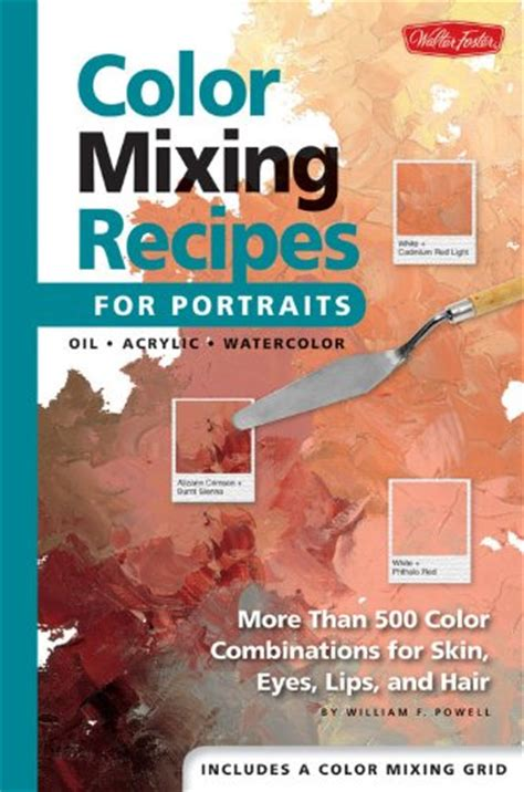 book review color mixing recipes for portraits more than