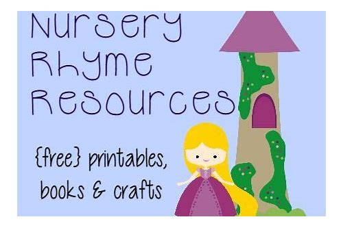 free download nursery rhyme book
