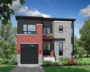 Open, Concept, Modern, House, Plan