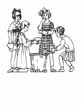 Coloring 1920s Children 1920 1910 Edwardian Fashions Clothes Colouring Costume History 1915 Drawings Era Printable Outline Getcolorings Pag Outfits sketch template