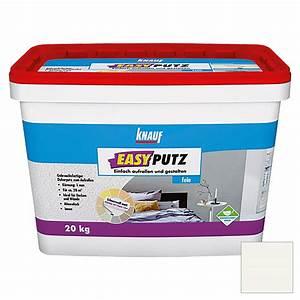 Knauf Easyputz Farben : knauf easyputz fein wei 20 kg korngr e 1 mm bauhaus ~ Eleganceandgraceweddings.com Haus und Dekorationen