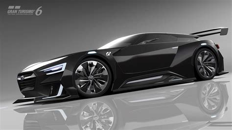 Subaru Viziv Gt Vision Gran Turismo Car Revealed, Coming